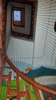 Cáp lưới an toàn cầu thang cáp inox 304 bọc nhựa