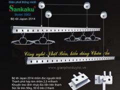 Giàn phơi Sankaku S-002 cao cấp